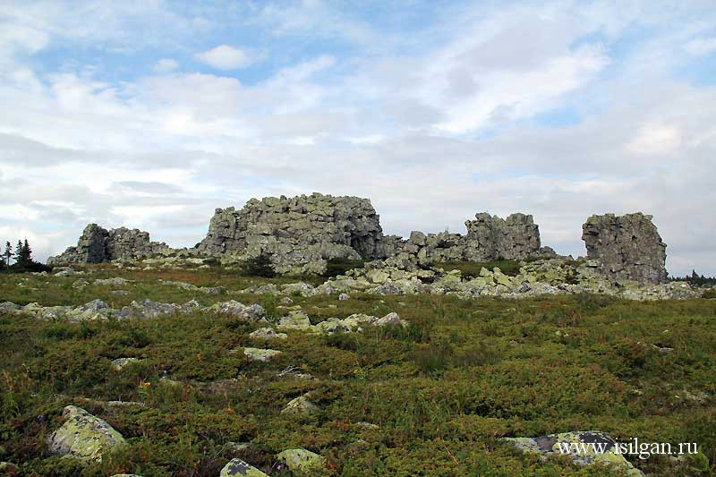 Гора Поперечная. Хребет Зигальга. Челябинская область