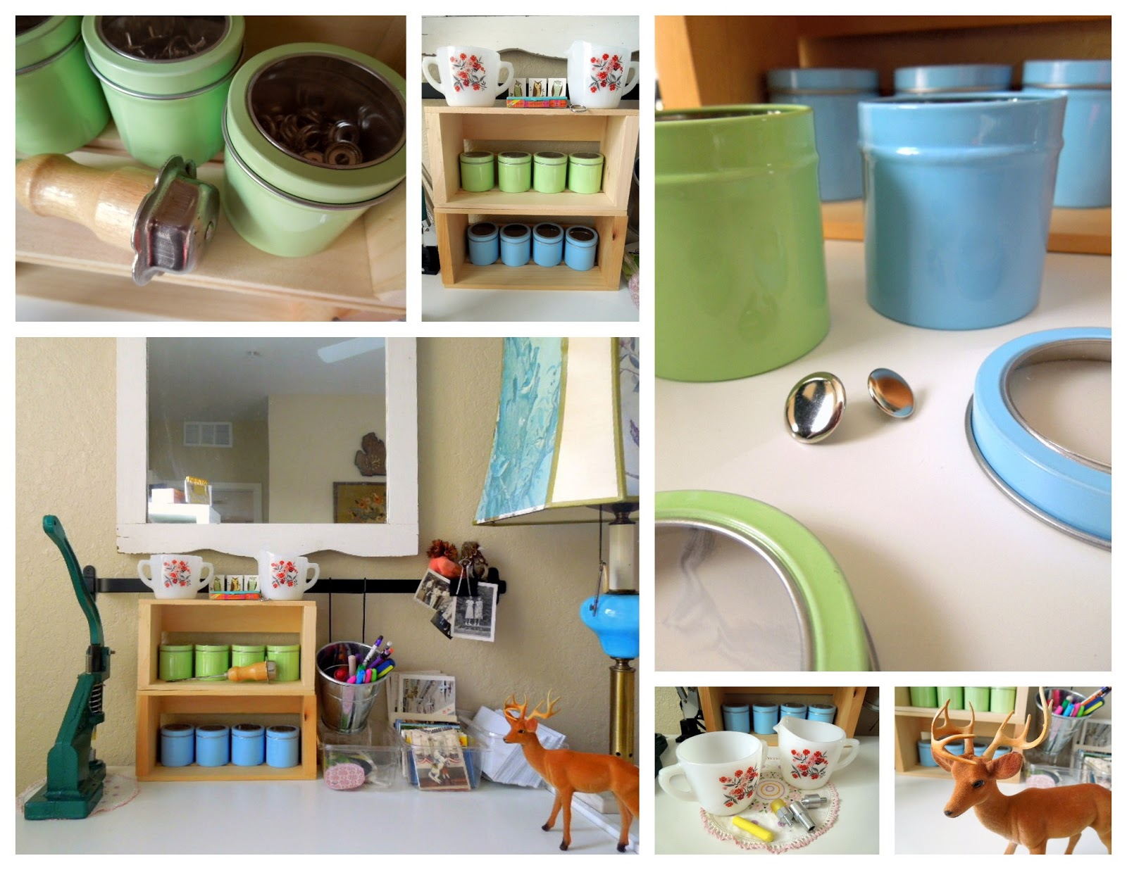 Upcycle your life Homemade craft storage ideas