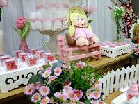 Decoração de festa junina rosa em Porto Alegre - RS