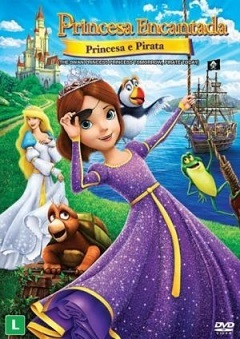 Princesa Encantada - Princesa e Pirata DVD Filmes Torrent Download capa