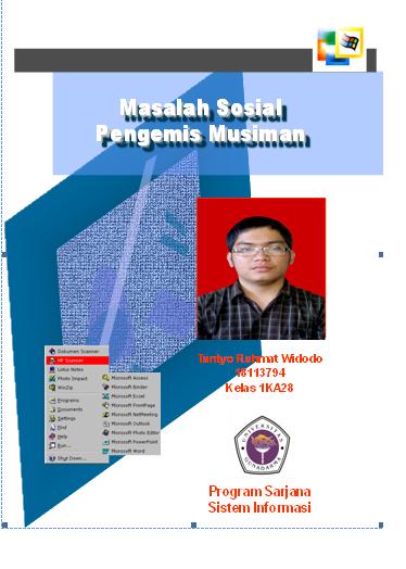 Tugas makalah ISD Masalah Sosial Pengemis Musiman