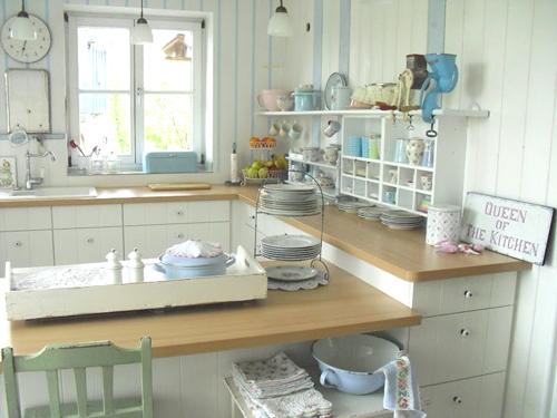 Heart Handmade UK: Punktchengluck Shabby Chic Kitchen Inspiration