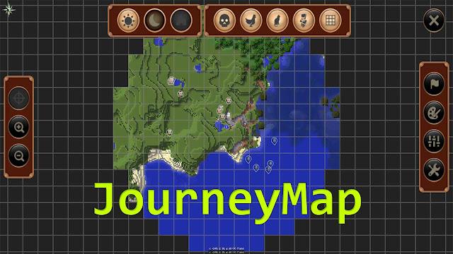JourneyMap Mod 1.8.8