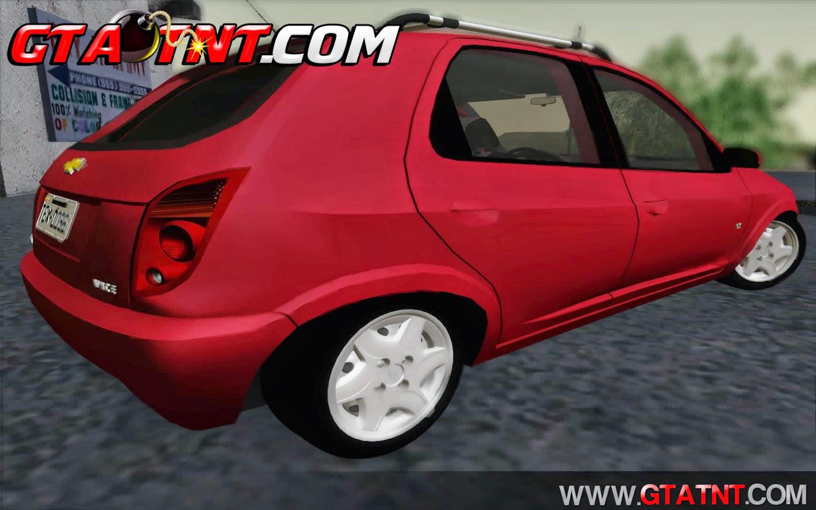 Chevrolet Celta 2013 VHC 4 Portas para GTA San Andreas