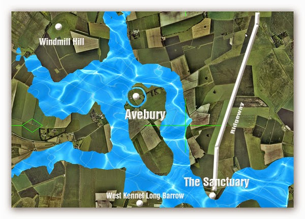 Avebury - at its construction