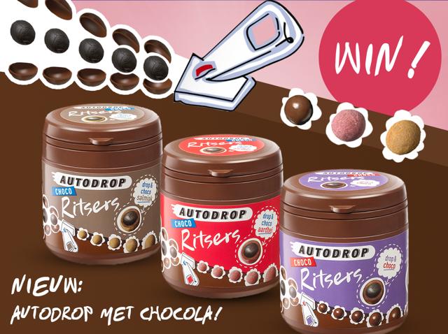 Nieuw: Autodrop met chocola!