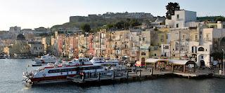 ostrov Ischia - prístav