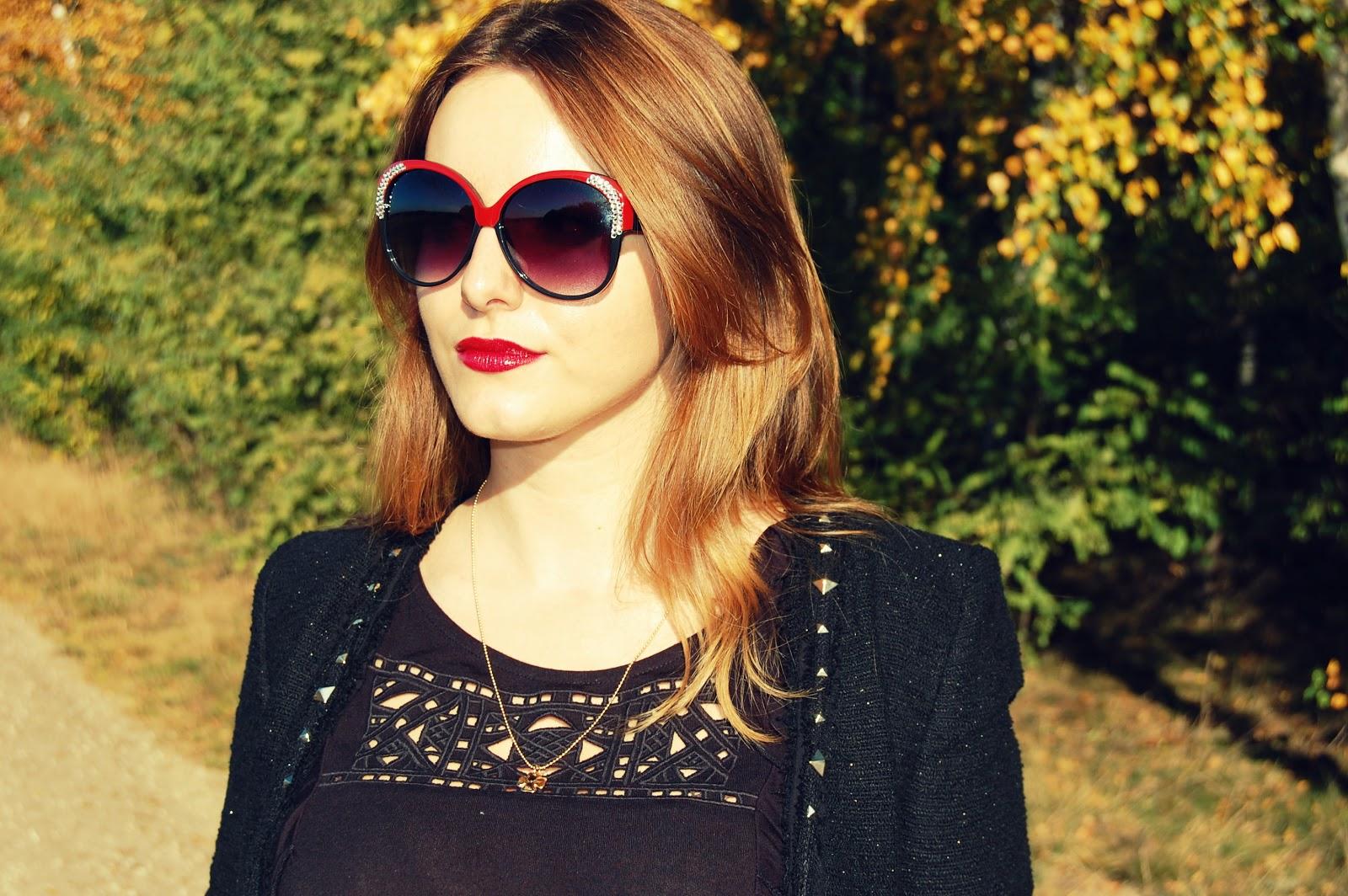 burgundy model lips
