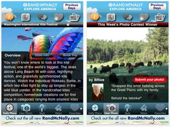 Rand McNally's Explore America iPhone app released