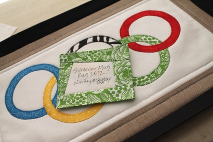 Olympic Ring Rug