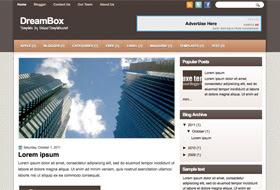 DreamBox Blogger Template