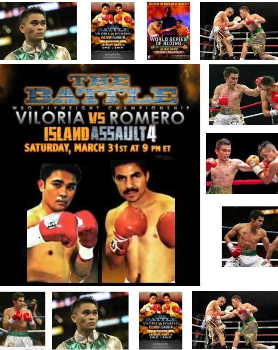 live streaming of viloria vs romero fight
