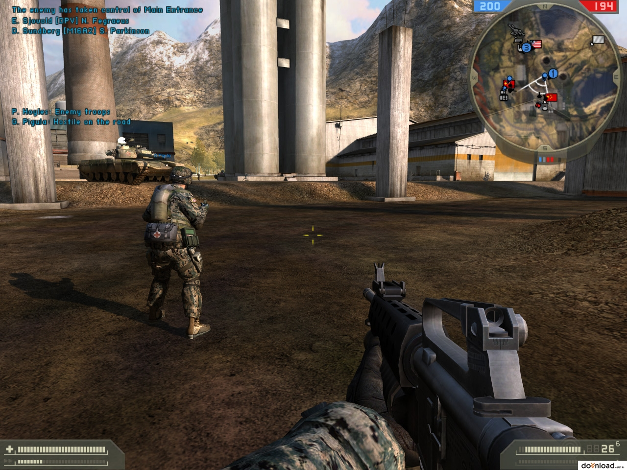 Battlefield 2 Free Download  For Pc with crack