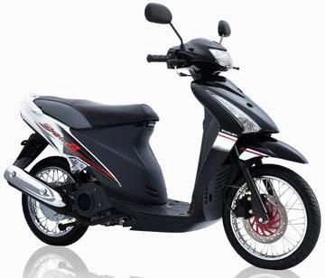 Perbandingan Yamaha Mio Vs Suzuki Spin