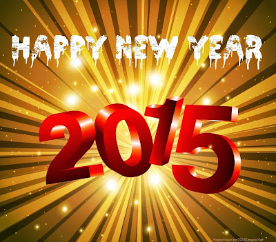 Happy New Year 2015 Bright Celebration