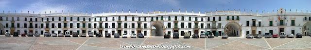 Aguilar de la Frontera - San Jose Square (huge 180º picture)