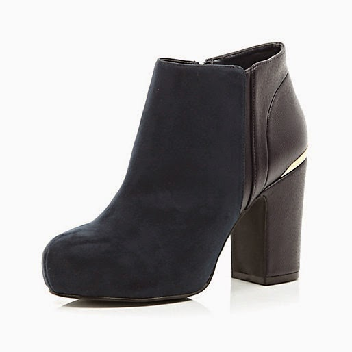 navy river island boots