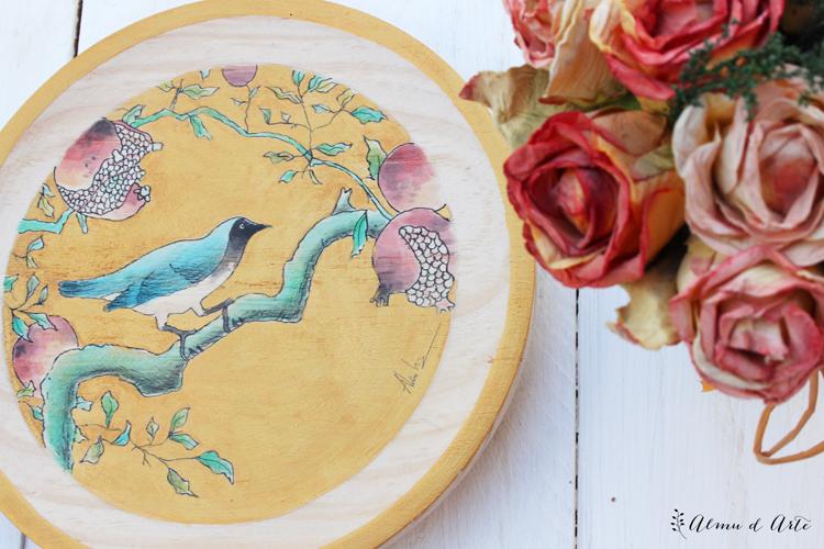 Pintura decorativa estilo oriental