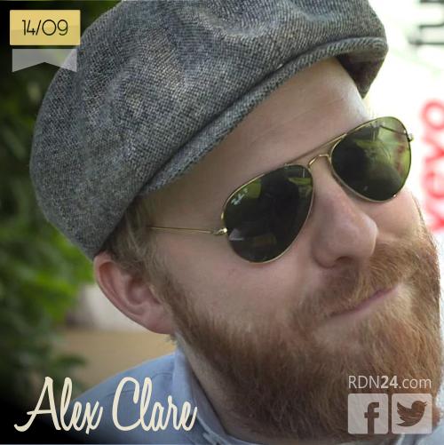 14 de septiembre | Alex Clare - @alexanderclare | Info + vídeos