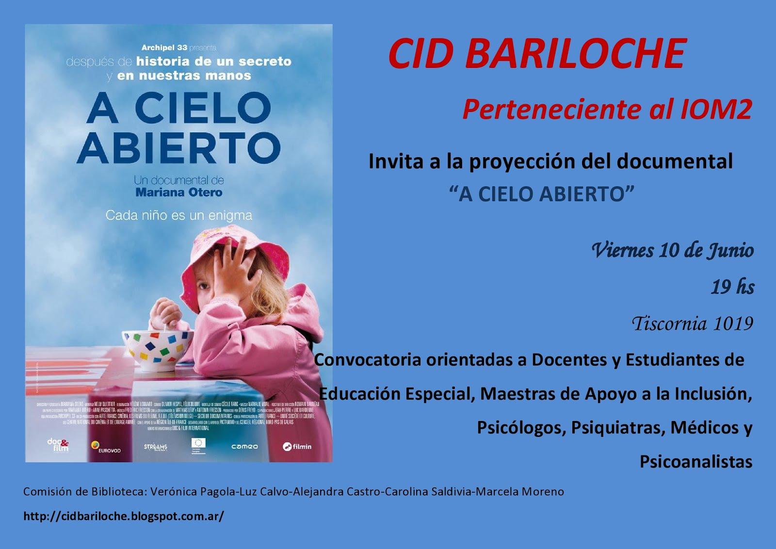 """Proyección del documental """"A cielo abierto"""""""
