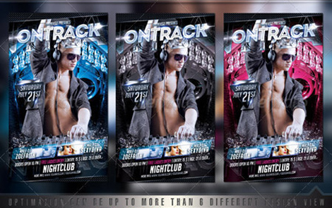 GraphicRiver Ontrack Flyer Template