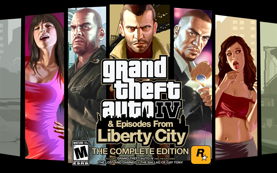 Grand Theft Auto IV Complete Edition Free Download Poster