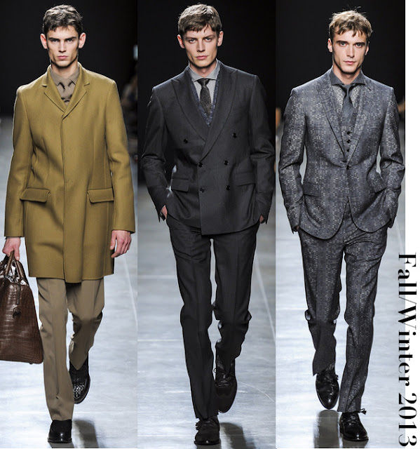 Bottega Veneta Men's Fall/Winter 2013 Collection