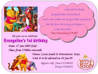 contoh undangan acara ulang tahun bahasa inggris