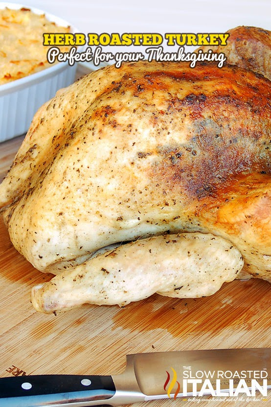 The Thanksgiving turkey has been saved. Our Herb Roasted Turkey is so ...