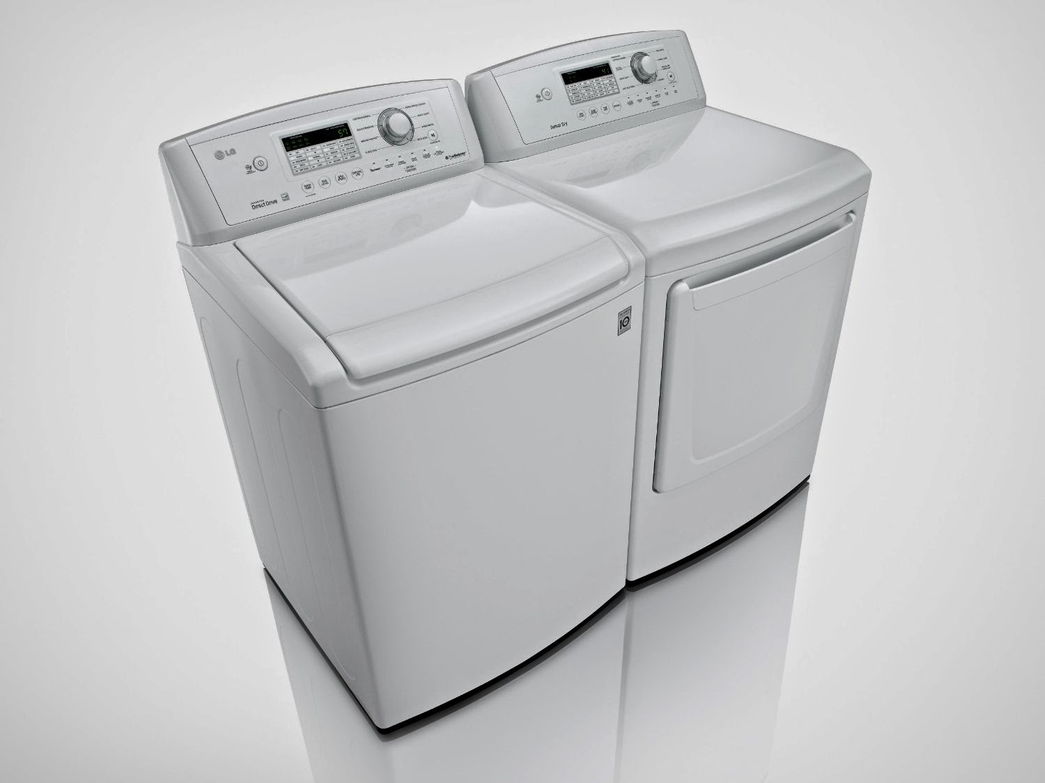Lg Washer And Dryer Lg Top Load Washer And Dryer