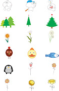 Cute, Cartoon, Baby, Animal, Flower, Tree. Total: 3 files. File Format: EPS