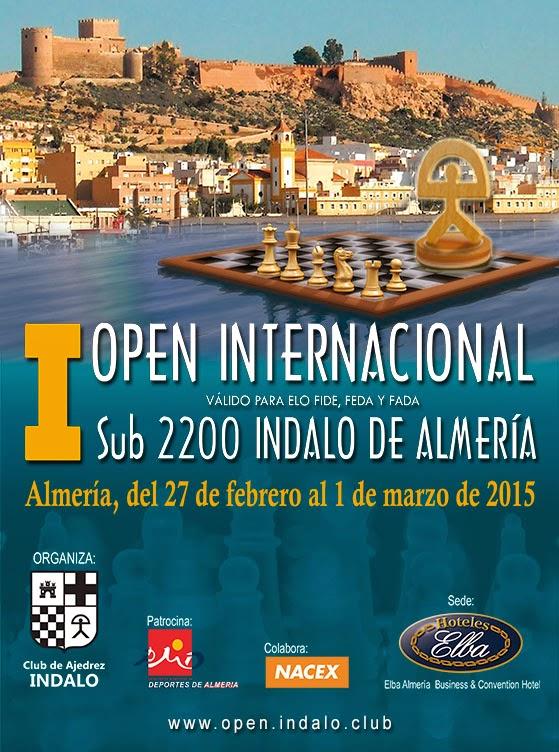 """OPEN INTERNACIONAL SUB2200 """"INDALO DE ALMERÍA"""""""