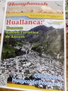 Revista Huayhuash ¡Atalaya de los Andes¡ Dirige Alex Milla Curi