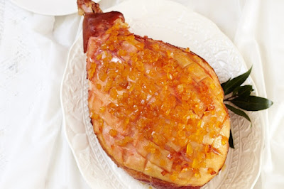 Ginger jewelled glazed ham Recipe