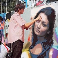 Faça um hum Grafite de rua em sua foto online