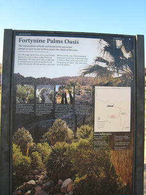 49 Fortynine Palms Oasis Trail Sign Joshua Tree