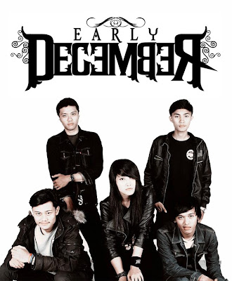 Early December Band Dramatical Post Hardcore Bandung Female Vocal Foto Personil Logo Wallpaper