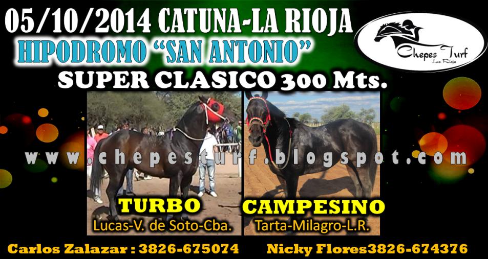 CLASICO CATUNA 5 DE OCTUBRE