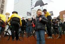 Protesters LOVE Victoria