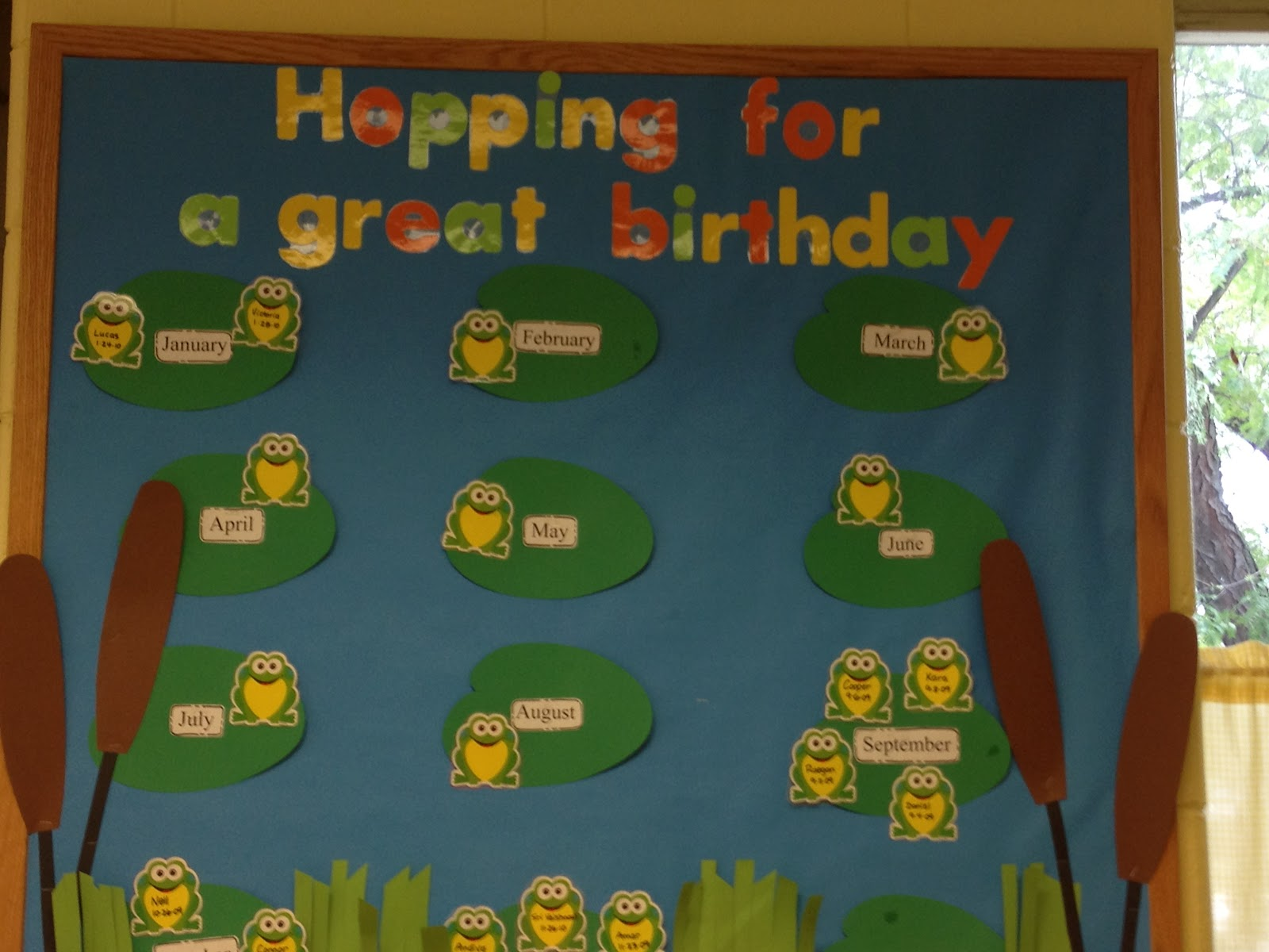 October Bulletin Board Ideas Preschool http://trinitypreschoolmp.blogspot.com/2012/08/preschool-birthday-bullletin-boards.html