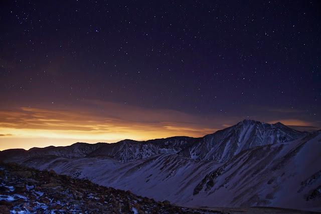 空の壁紙:夜空と夜景の壁紙