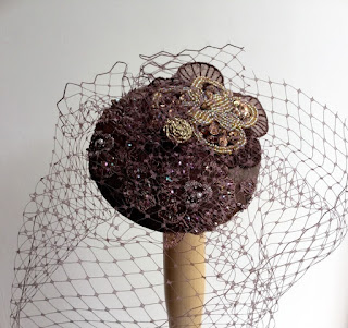 https://folksy.com/items/6688090-Chocolate-brown-veil-fascinator-