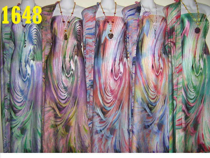 NSD 1648: NABILA SILK DIGITAL PRINTED, 4 METER, 5 COLORS