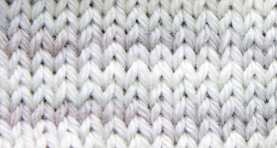 Stocking Knit Stitch On Loom : LK304. The Stockinette Stitch