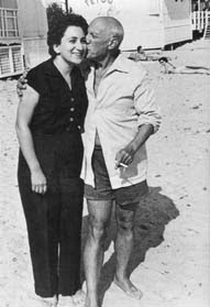 Margot Benacerraf y Pablo Picasso