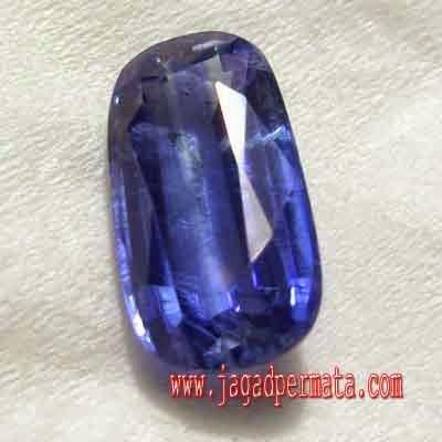 Batu Permata Blue Kiyanite