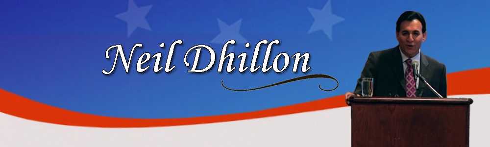 Neil Dhillon - Former Congressional Legislative Aide