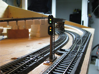 Installed trackside signal
