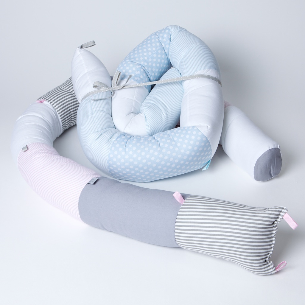 My baby gift singapore personalized baby gifts a long 160 meter soft snake pillow that rolls like a snail suitable as head protector in babys crib and as partial head protector in babys bed negle Gallery