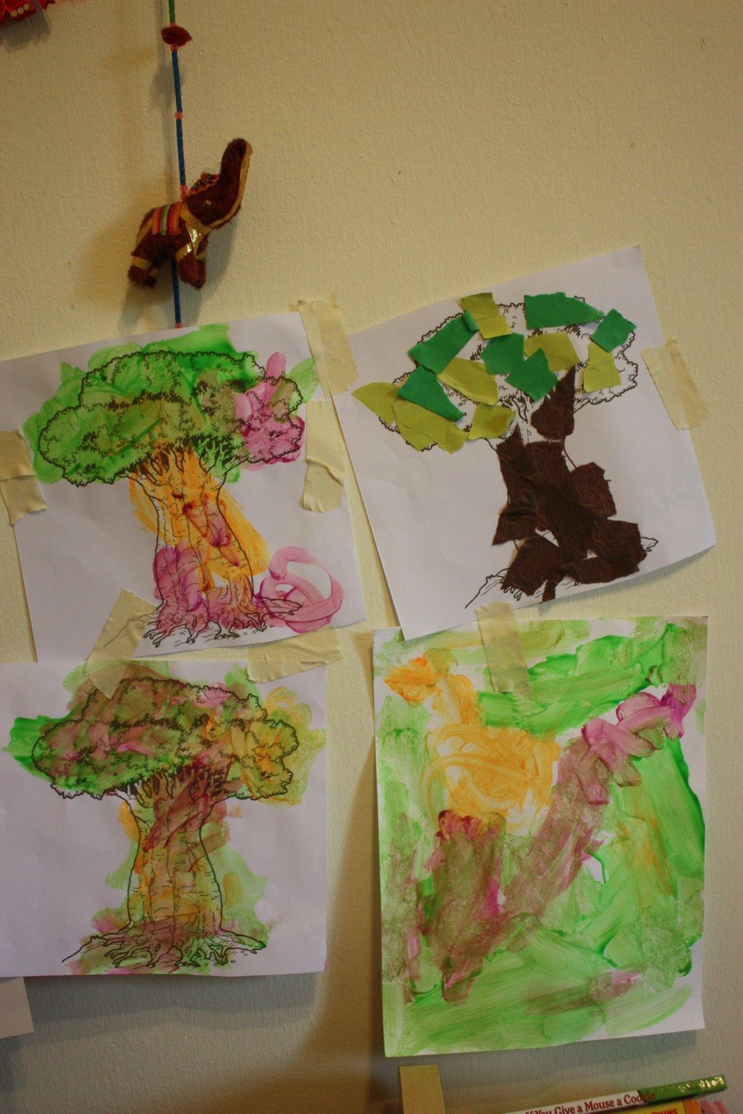 Whirls And Twirls Around The World Kenya Crafts Baobab Trees